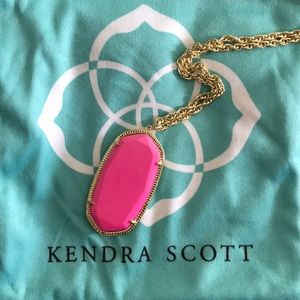 Kendra Scott Rae Necklace-Magenta